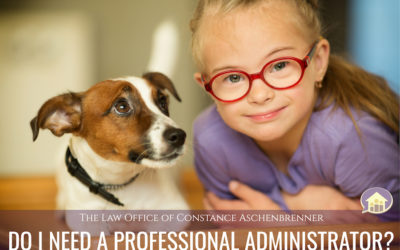 Using a Professional Administrator For Your Child's Special Needs Trust