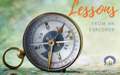 Lessons From An Explorer