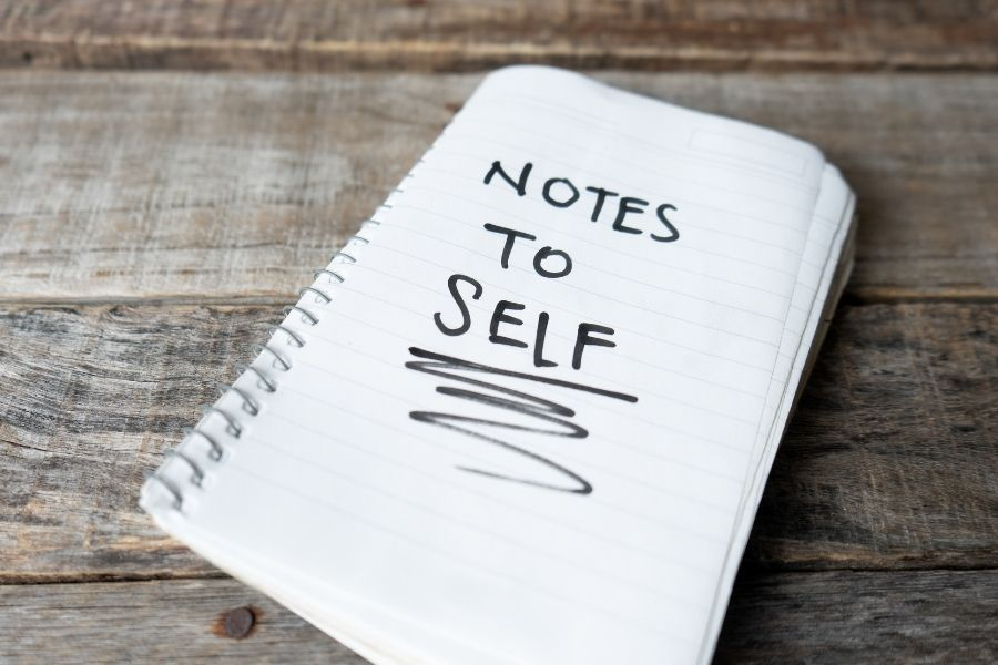 Write a Note to Self